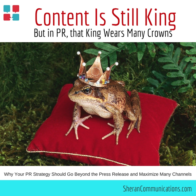 Content is King in PR